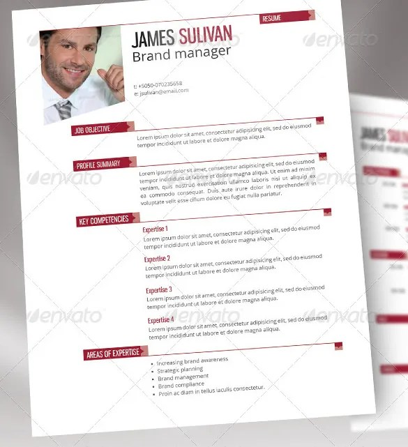 Manager Resume Template \u2013 15+ Free Samples, Examples, Format - manager resume template