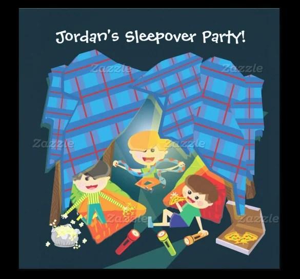13+ Creative Slumber Party Invitation Templates - PSD, AI, EPS