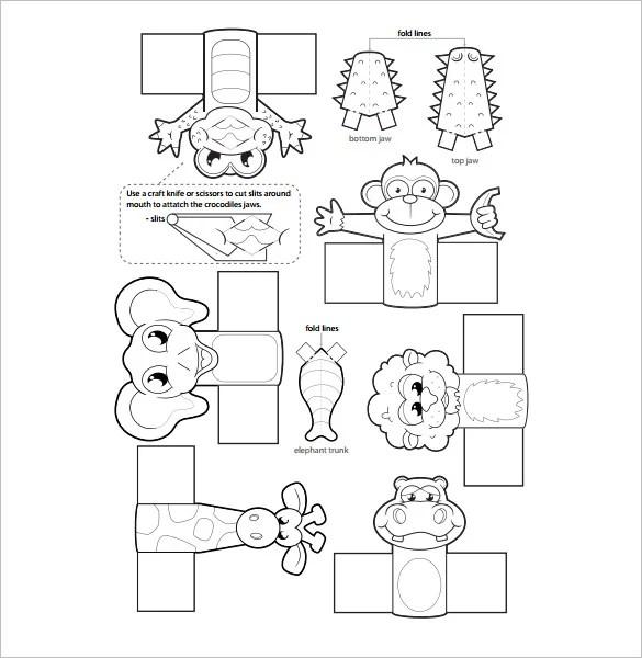11+ Finger Puppet Templates \u2013 Free PDF Documents Download! Free - puppet templates