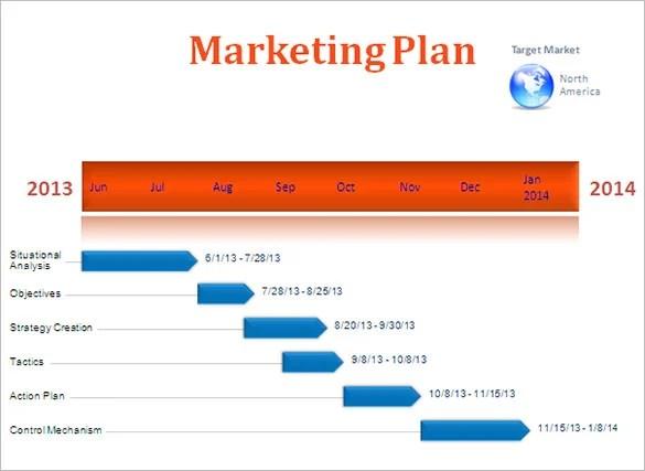 6+ Advertising Timeline Templates - DOC, PDF, PPT Free  Premium