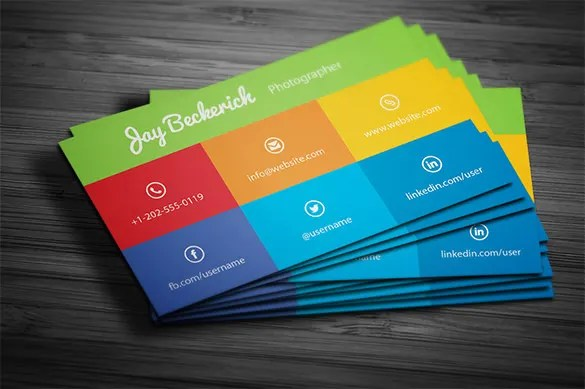 Visiting Card Template \u2013 13+ Free Printable Word, PDF, PSD, EPS - business card template