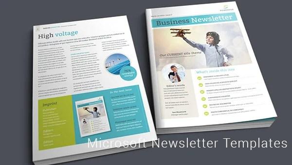 27+ Microsoft Newsletter Templates - DOC, PDF, PSD, AI Free