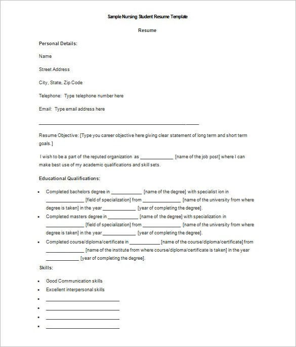 resume templates word download - Onwebioinnovate - resumes templates word