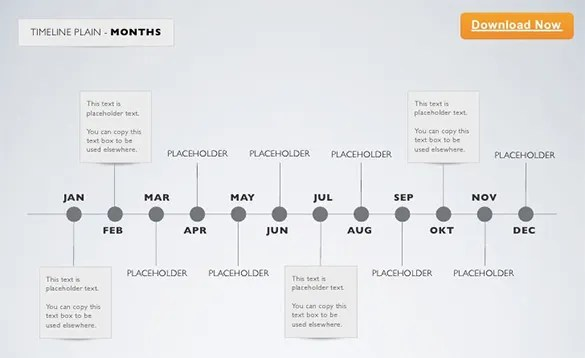13+ Keynote Timeline Templates \u2013 Free PDF, PPT, KEY Documents