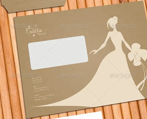 18+ Wedding Card Envelope Templates -DOC, PDF, PSD Free  Premium