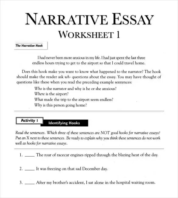 narrative essay outline examples - Onwebioinnovate