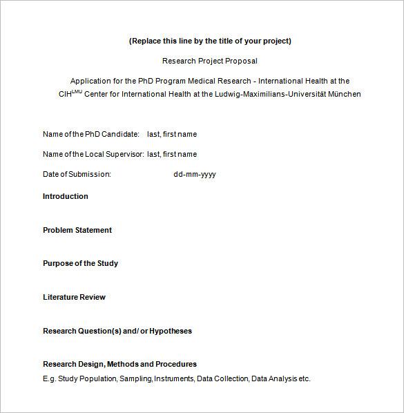 Proposal Templates \u2013 140+ Free Word, PDF, Format Download! Free