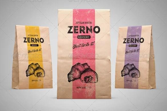 16+ Awsome Paper Bag Templates  PSD Mockups! Free  Premium Templates