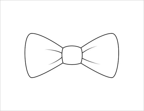 8+ Printable Bow Tie Templates - DOC, PDF Free  Premium Templates