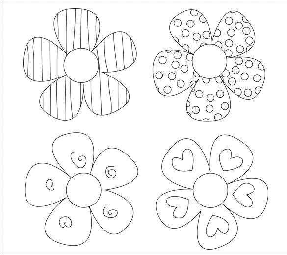 14+ Paper Flower Templates - PDF, DOC, PSD, Vector EPS Free