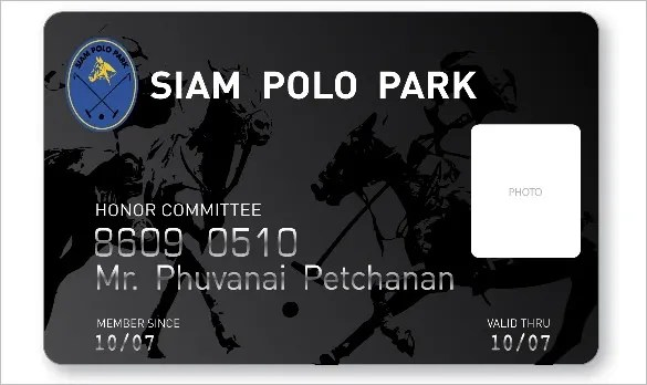 club membership card template - Onwebioinnovate - club card design