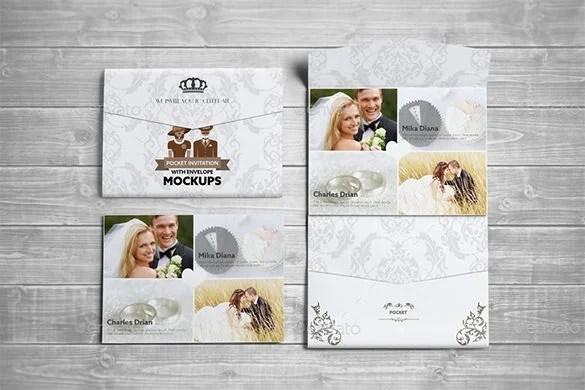 Wedding Card Envelope Templates \u2013 21+ Free Printable Word, PDF, PSD - postcard wedding invitations template free