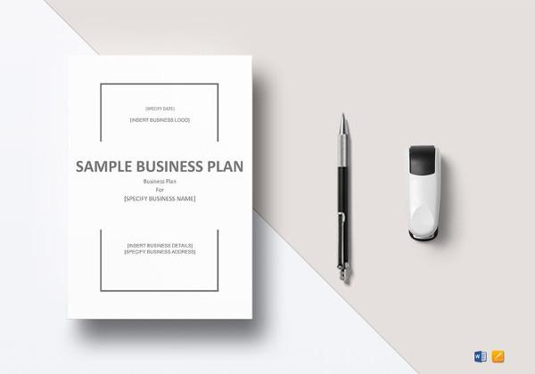 Simple Business Plan Template \u2013 20+ Free Sample, Example Format - free printable business plan