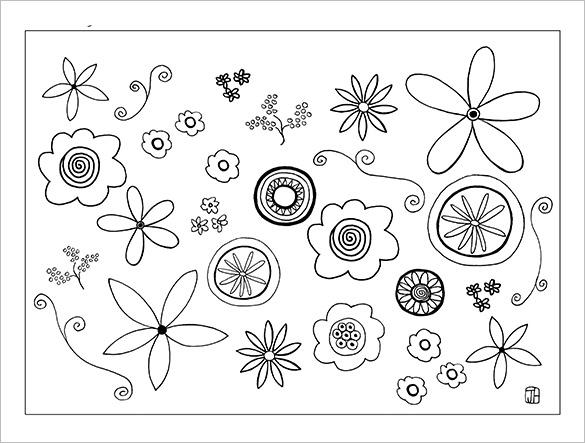 flower template printable - Ozilalmanoof