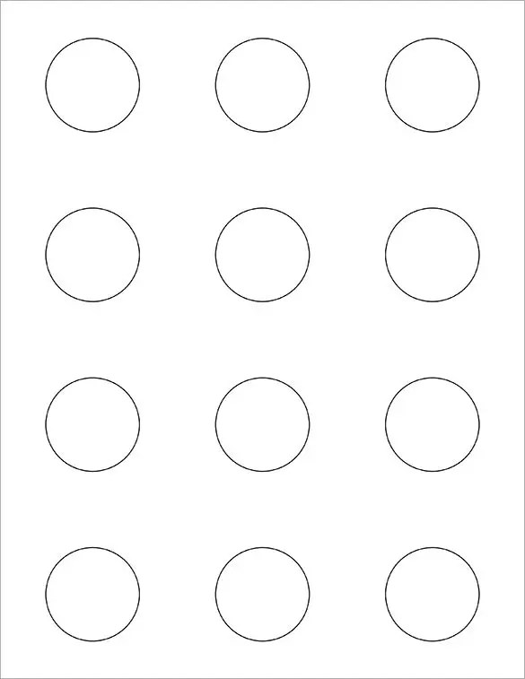 macaron circle template - Onwebioinnovate - circle template