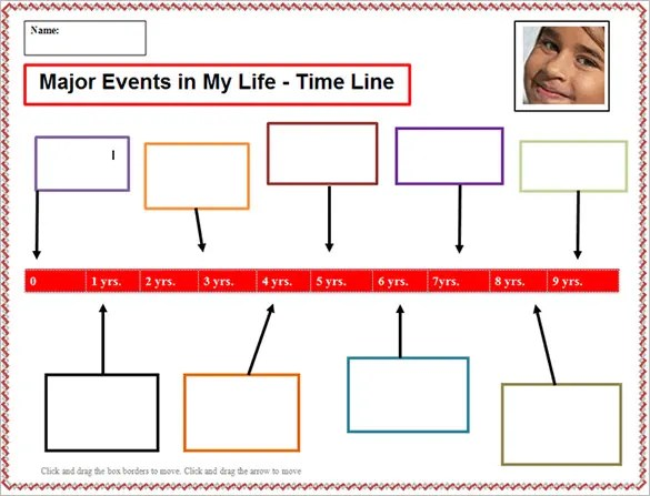 19+ Personal Timeline Templates \u2013 Free Word, PDF Format Download