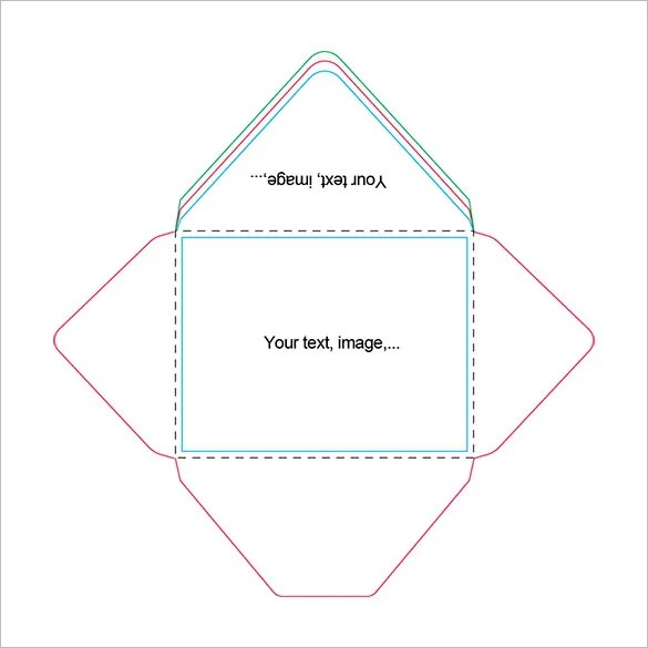 Beautiful A2 Envelope Templates \u2013 13+ Free Printable Word, PDF, PSD