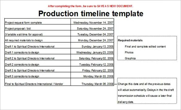 Timeline Template - 67+ Free Word, Excel, PDF, PPT, PSD Format - timeline sample in word