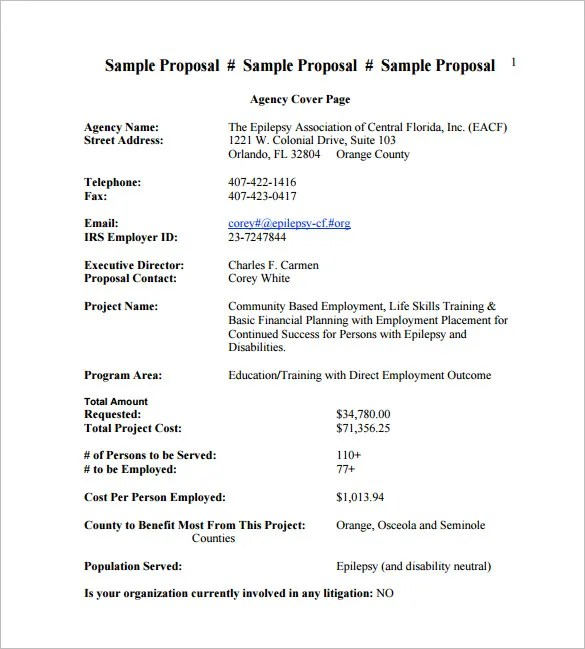sales proposal template free download - Jolivibramusic - free sales proposal template