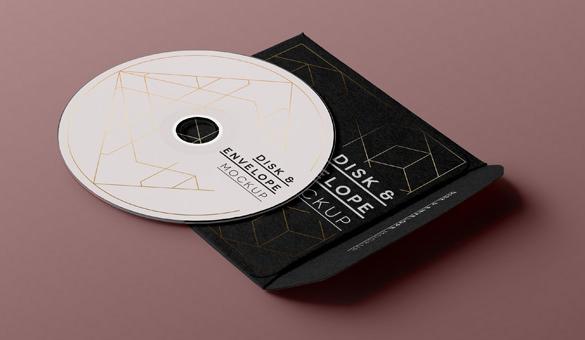 CD Envelope Templates \u2013 11+ Free Word, PSD, EPS, AI Format Download