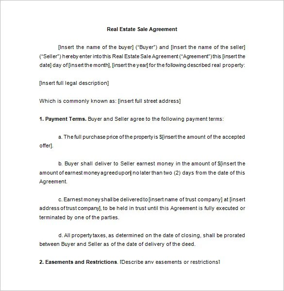 Sales Contract Template - 15+ Free Word, PDF Documents Download - free sales contract template