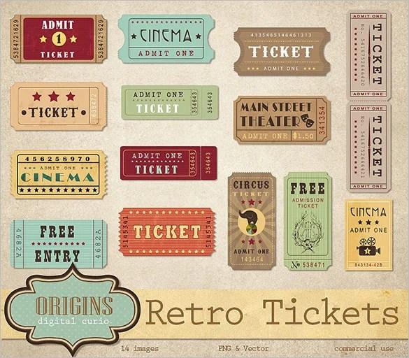 free ticket design template - Canasbergdorfbib