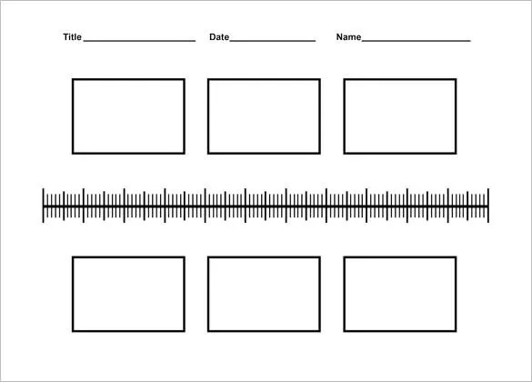9+ Timeline Templates for Kids \u2013 Free Sample, Example, Format