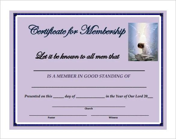 sample membership certificate - Canasbergdorfbib
