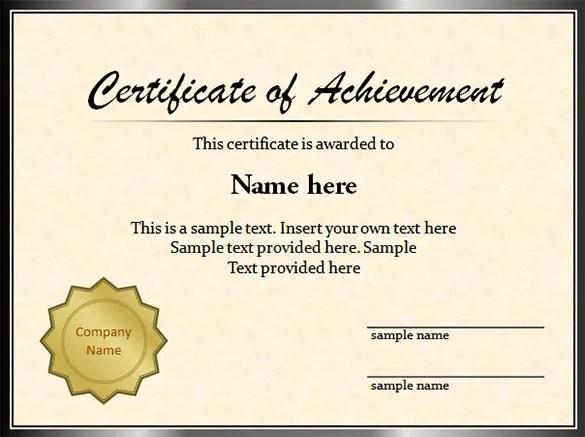 sample graduation certificate - Ozilalmanoof - certificate samples