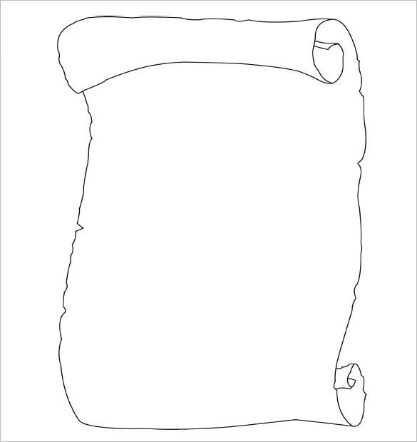 13+ Scroll Paper Templates  PSD Designs! Free  Premium Templates