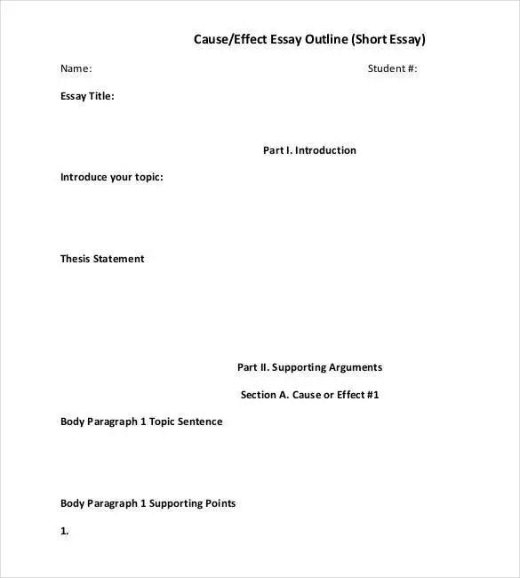 outline format for an essay - Canasbergdorfbib