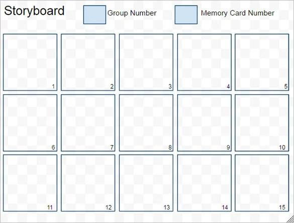 Simple Storyboarding Template \u2013 8+ Free Word, Excel, PDF, PPT Format