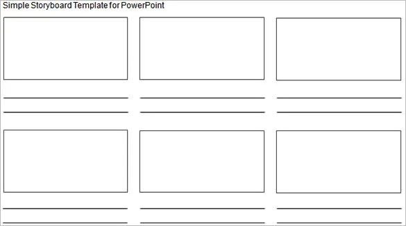 Simple Storyboarding Template u2013 8+ Free Word, Excel, PDF, PPT - free storyboard templates