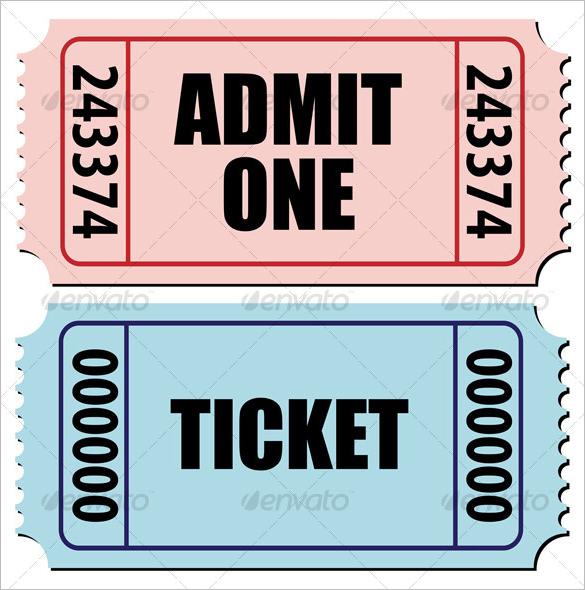 admit one ticket template datariouruguay - blank admit one ticket template