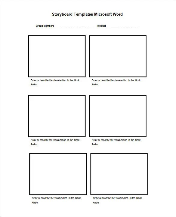 75+ Storyboard Templates - PDF, PPT, DOC, PSD Free  Premium Templates