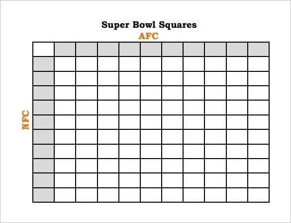 Football Pool Template - 17+ Free Word, Excel, PDF Documents - football pool template