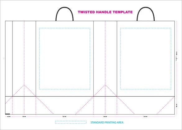 paper bag template download