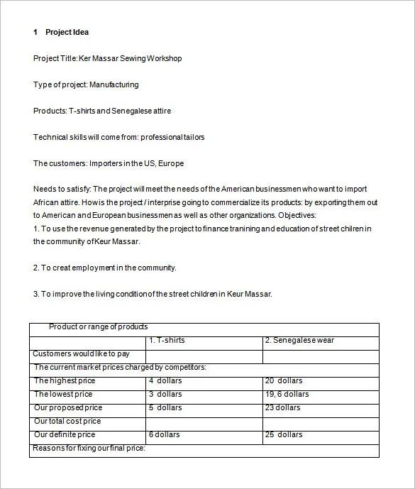 Price Proposal Template Price Proposal 37+ Proposal Templates In - price proposal template