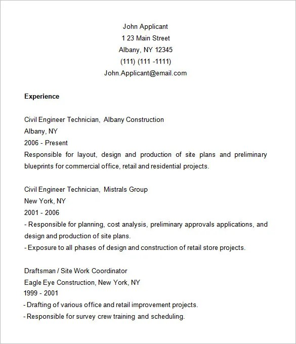 sample resume construction - Doritmercatodos