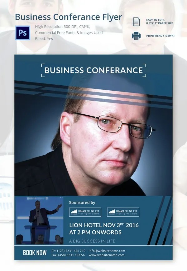 Conference Flyers Templates Free Cvfreeo