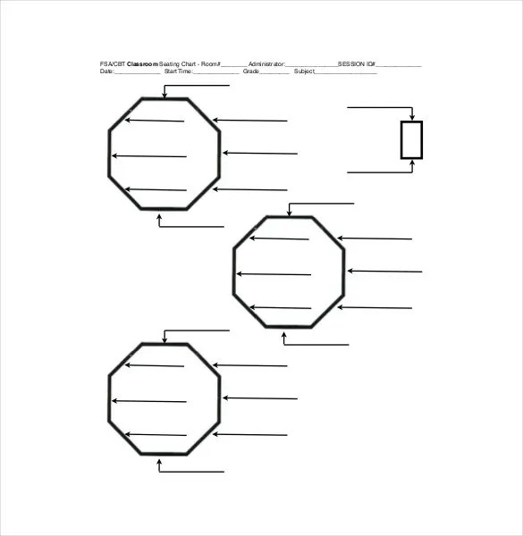 Classroom Seating Chart Template - 16+ Examples in PDF, Word, Excel