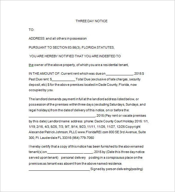 Eviction Template u2013 12+ Free Word, Excel, PDF, Format Download - copy of an eviction notice