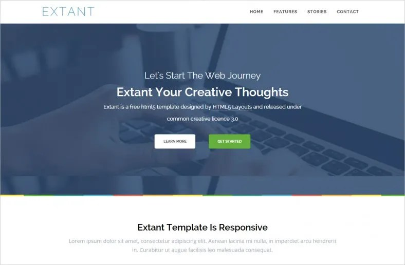48+ Free Website Themes  Templates Free  Premium Templates - template free download