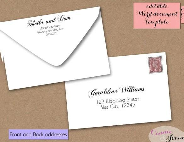 11 4x6 Envelope Templates Free Premium Templates