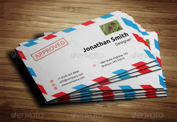 Business Envelope Template u2013 13+ Free Printable, Sample, Example - sample money envelope template