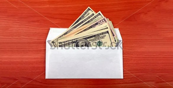 Sample Money Envelope Template | cvfree.pro