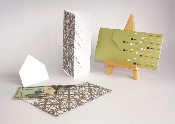 Amazing Money Envelope Template Festooning - Professional Resume