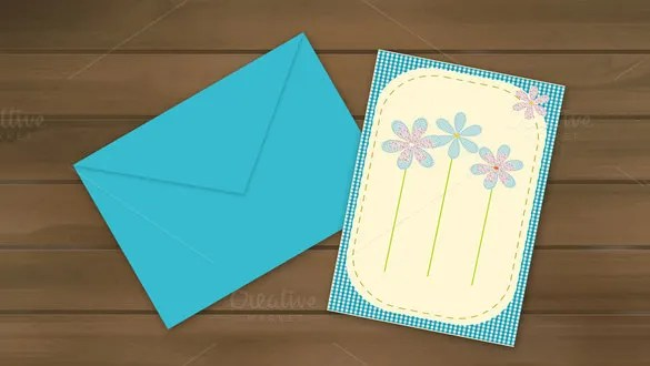 11+ 5x7 Envelope Templates - PSD, AI, EPS Free  Premium Templates - Sample 5x7 Envelope Template
