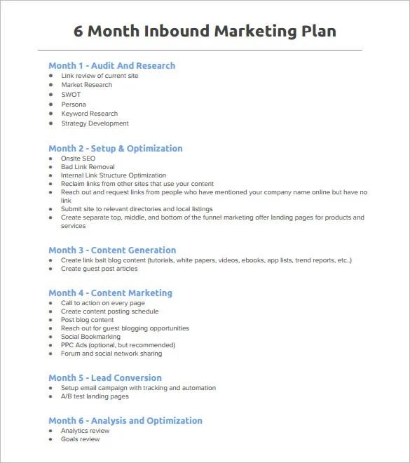 5+ Marketing Plan Outline Templates - DOC, PDF, Excel Free