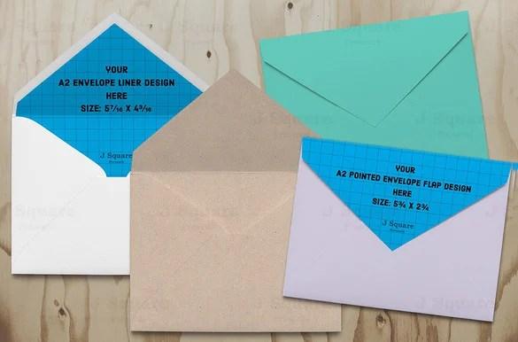 Envelope Template \u2013 68+ Free Printable PSD, PDF, EPS, Word, Excel - sample a2 envelope template